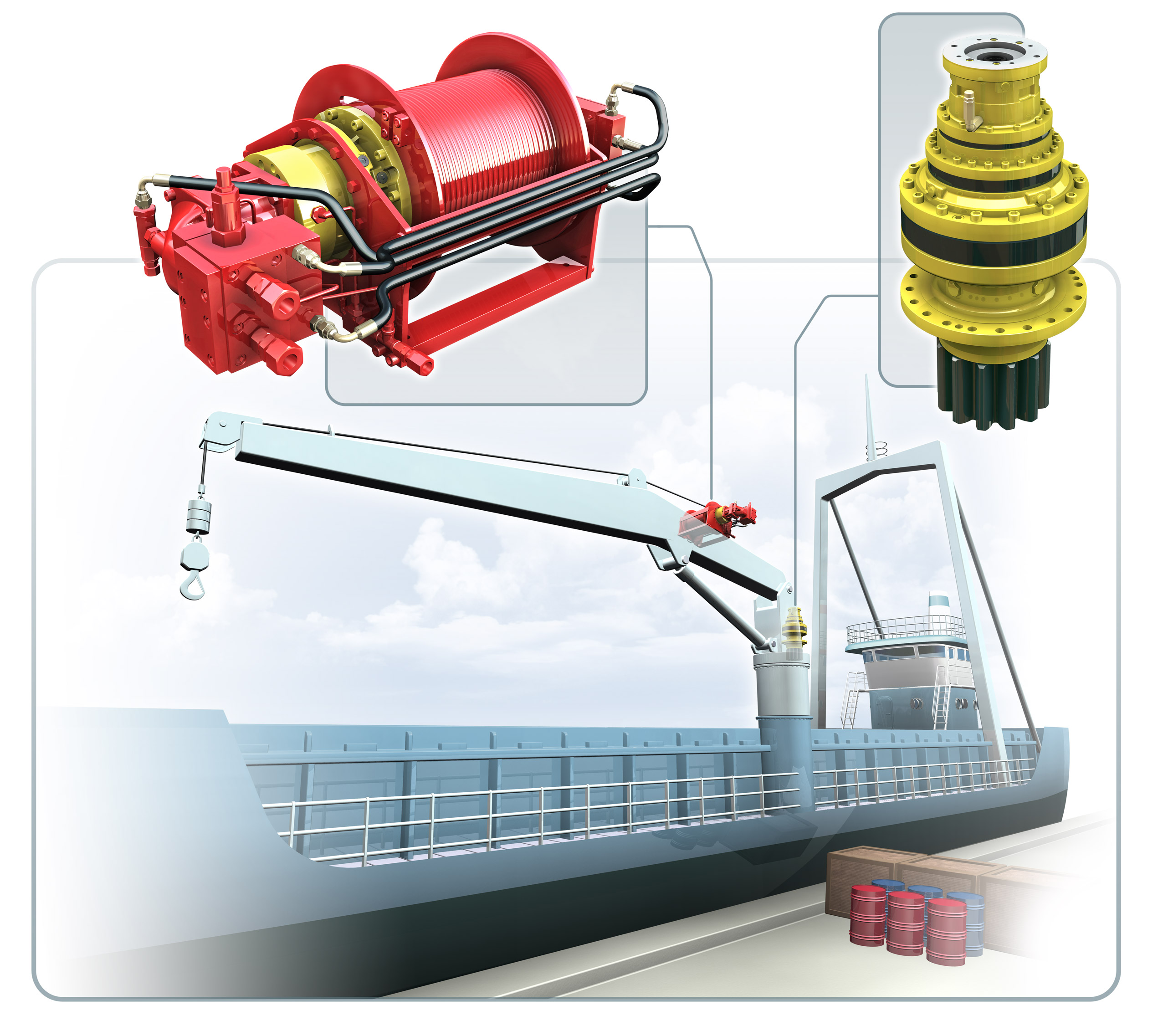 Marine Offshore Hoists